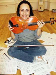 Geigenunterricht und Bratschenunterricht
