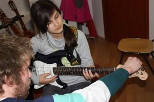 E-Gitarre lernen in der Vienna Music School, private Musikschule in Wien